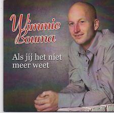 Wimmie Bouma-Als Jij Het Niet Meer Weet cd single