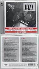 """LES PLUS GRANDS TITRES DU JAZZ """"50 Titres"""" (2 CD) 2010 NEUF"""