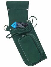 TRADITIONAL FINE SUEDE GREEN SIDE HIP QUIVER ARCHERY PRODUCTS  AQ162  R / HAND