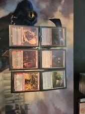 Custom Torbran, Thane of Red Fell Commander Deck. Beginner Edh deck.