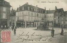 POSTCARD / CARTE POSTALE / ARBOIS PLACE DE LA LIBERTE