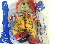 """NWT 7"""" RARE McDonald's Build A Bear Workshop RONALD MCDONALD Beanbag Plush 2005"""