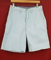 Polo Ralph Lauren Chino Shorts Men's 30 Relaxed Flat Front Cotton Blue NWT $79