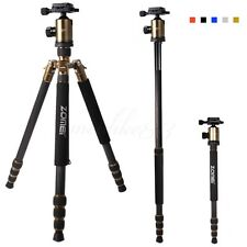 Zomei Z888C Carbon Fiber Tripod Monopod With BallHead For Canon/Nikon Camera