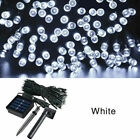 50/100/200 Led Solar String Lights Waterproof Copper Wire Fairy Christmas Garden
