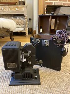 Vintage Cine Projector Kodascope Eight Model 80 With Case And Extras