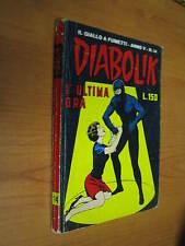 DIABOLIK ORIGINALE ANNO V N. 14 - ANNO 1966