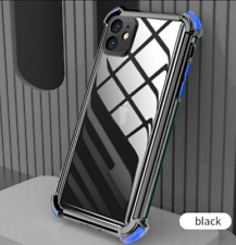 Case For iPhone 12 11 Pro Max Xs Xr 8 7+ ShockProof Silicone Clear Plating Cover