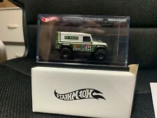PERIOD CORRECT HOT WHEELS LAND ROVER DEFENDER 110 DIE-CAST IN HAND