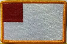 BILBAO ESPANA / SPAIN FLAG EMBROIDERY  Iron-On Patch Gold Border