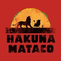 NEW Chuys T Shirt Hukuna Mataco Size Small Red Limited Edition Ships Free