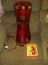 EL PASO CHILE COMPANY MARGARITA MAKER & DISPENSER-RED-EUC-MODEL 10056