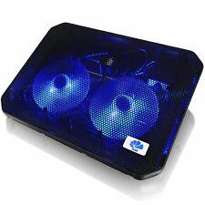 AAB Cooling NC79 NOTEBOOK KÜHLER COOLER PAD LAPTOP 2-LÜFTER LED Ständer Kühlpad