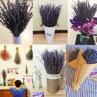 Natural Bunch Dried Beautiful Lavender Flower Bouquet Home Wedding Party Decor