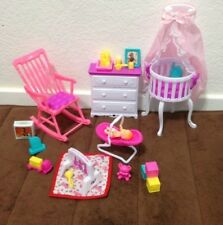 Dollhouse Furniture, Baby Toys Toddler Games Hobbies Accessories NEW