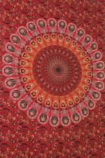 Indian Mandala Bedspread Hippie Tapestry Twin Wall Hanging Throw Home Decor