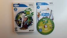 Nintendo Wii : Doods Big Adventure - Udraw VideoGames COMPLETE - FREE SHIPPING !