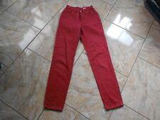 H4268 Levis 501 Jeans W26 Rot  mit Mängeln