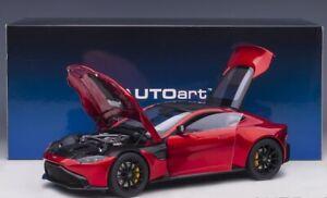 Aston Martin Vantage (Hyper Red) 2019 1:18 AUTOART