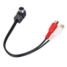 10Pcs Lot Aux Cable For Jvc Headunit Jlink To Aux Input Rca Adapter Ks-U57