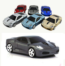 Wireless Car Optical mouse Gaming Mice 2.4G LED for Laptop PC MAC + USB Receiver