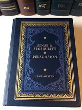 Sense and Sensibility : Persuasion by Jane Austen - illus. leather bound - VG+