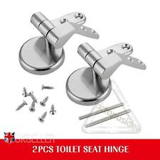 Tapas para WC Bisagras de Asiento Cromo sólido Incluye accesorios y fijaciones