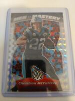 CHRISTIAN McCAFFREY 2020 Mosaic MEN OF MASTERY PRIZM Panini Panthers MM10🔥💎📈