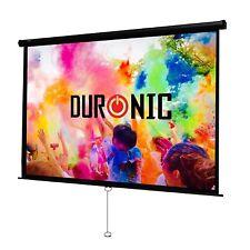 Duronic MPS100 /43 Ecran de projection manuel 100 pouces 4:3 / 203 x 152 cm