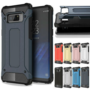 Hybrid Armor Case For Samsung Galaxy Note 9 8 Shockproof Rugged Bumper Cover