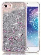 COVER Custodia Glitter Morbida Silicone GEL STRASS per Apple iPhone 5 5S SE