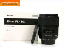 Sigma 35mm f1.4 messa a fuoco automatica veloce primo DG Lens-Nikon + spedizione gratuita nel Regno Unito