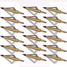 125 Grain Fixed blade Broadhead 6pcs Arrow Head Crossbow and Compound arrows