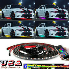 RGB LED Underbody Chassis Atmosphere Neon Light For Dodge Challenger Charger