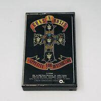 Guns N' Roses Appetite For Destruction Cassette Tape 1987