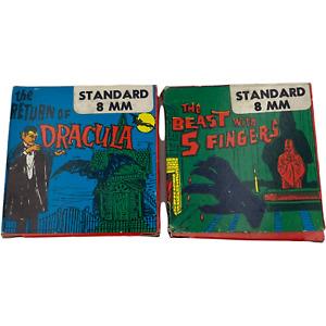 Vintage Halloween Spooky Hooky Return Of Dracula Beast With 5 Fingers 8mm Film