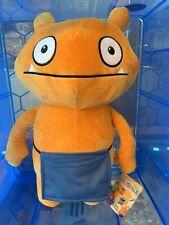 Brand New Ugly Dolls Large 40cm. Plush Soft Toy. Limited Qty.  Orange Wage.
