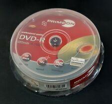 PRIMEON DVD-R Lightscribe Rohlinge 10er Spindel