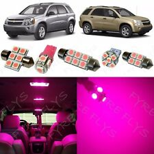 7x Pink LED interior package kit for 2005-2009 Chevy Equinox/Saturn Vue CE2P
