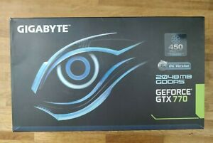 Gigabyte GeForce GTX 770 (2048 MB) Over Clocked OC Version Graphics Card in box