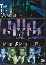 "THE LeFEVRE QUARTET....""MUSIC & MORE LIVE"".....NEW LIVE GOSPEL GOSPEL DVD"
