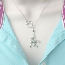 Love to Be Monkey Around Lariat Style Y Necklace.