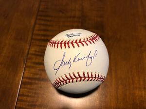 Sandy Koufax Signed Baseball