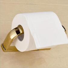 Porte-papier en papier doré Porte-rouleau en papier de toilette Tuyauterie