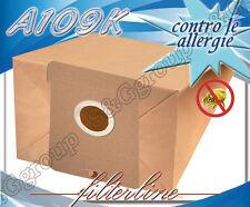 A109K 8 sacchetti filtro carta x AEG Vampyr Oko Vampyr SE