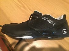 Men's MNAN4400010 AND1-Fury Low BLACK Size 11 Basketball Shoes
