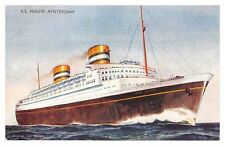 J Salmon Collectable Cruise Liner Postcards