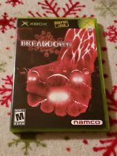 Breakdown Microsoft Xbox Namco