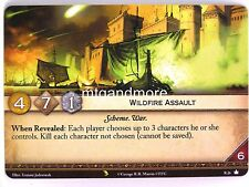 A Game of Thrones 2.0 LCG - 1x #R026 Wildfire Assault - Valyrian Draft Pack