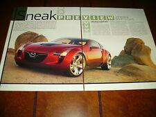 2006 MAZDA KABURA CONCEPT SPORTS CAR  ***ORIGINAL ARTICLE***